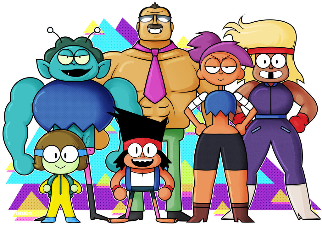 OK KO favourites by megatronsthiccthighs on DeviantArt
