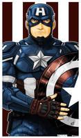 Captain America Icon by Thuddleston