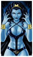 Shadow lass Legion of Superheros by Thuddleston