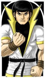Karate Kid Commission by Thuddleston