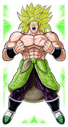 Broly by Thuddleston
