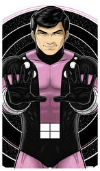 Cosmic Boy Commission by Thuddleston