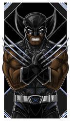 Wakanda Wolverine Icon by Thuddleston