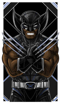 Wakanda Wolverine Icon