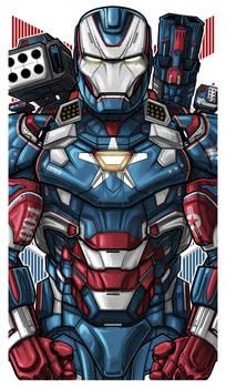 Iron Patriot Icon