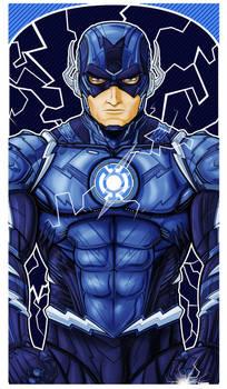 Flash Blue Lantern Icon Commission