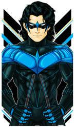 Nightwing Icon Blue