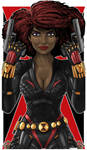 Black Widow Blk by Thuddleston