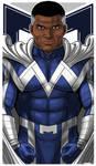 Blue Marvel Icon 1 by Thuddleston