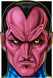 Sinestro Headshot