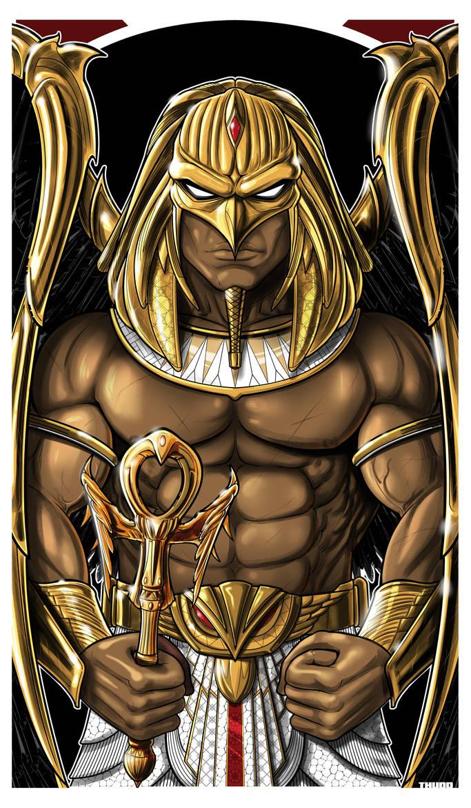 Hawkman Pharaoh ICON by Thuddleston