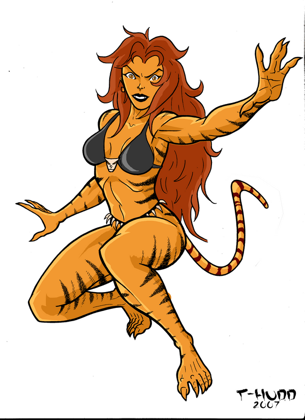 Tigra by Thuddleston