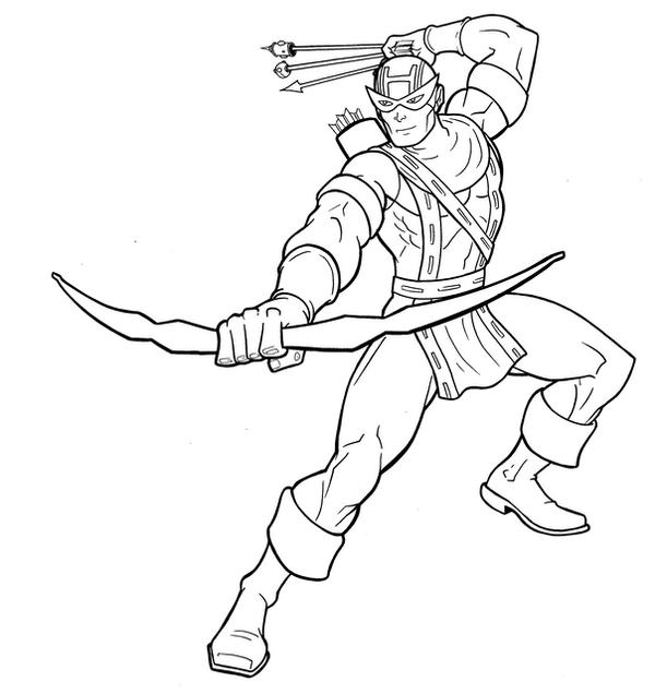 Hawkeye Inks by Thuddleston on DeviantArt