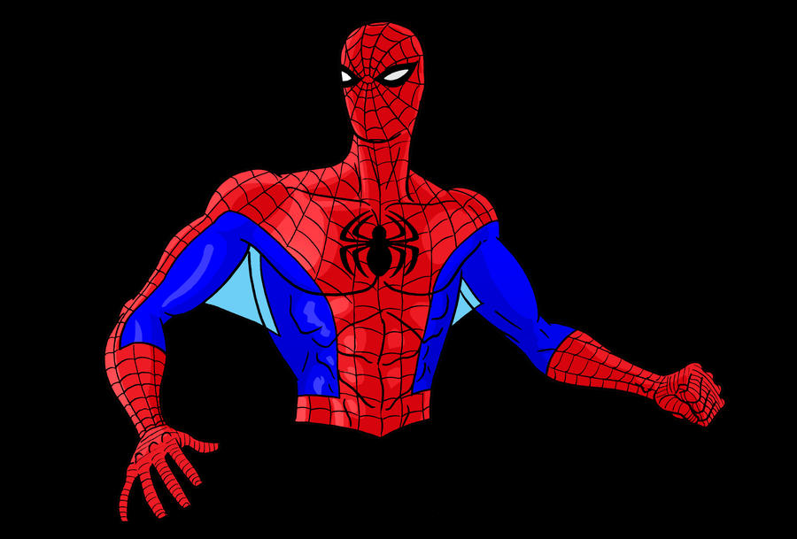 Spiderman Bust by Thuddleston