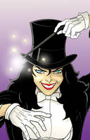 Zatanna by Thuddleston