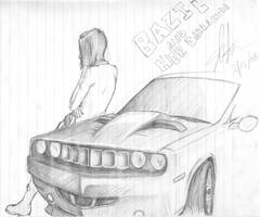 Baz and her Barracuda by EzeKeiL