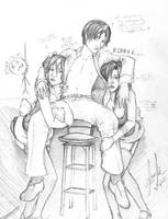 Rinn and His Maids by EzeKeiL