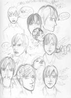 Rinn sketch Sheet by EzeKeiL
