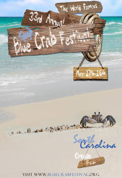 Poster for Blue Crab Festival