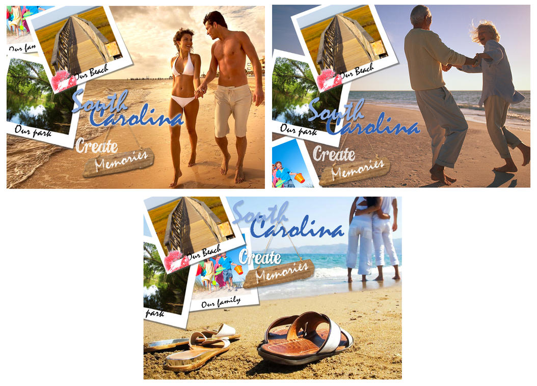 Postcards for South Caroline Project by EzeKeiL