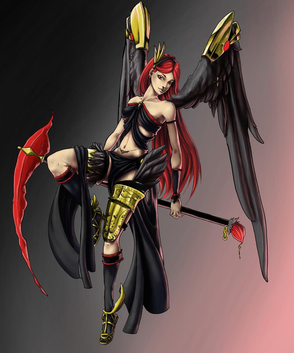 Demon Angel by EzeKeiL
