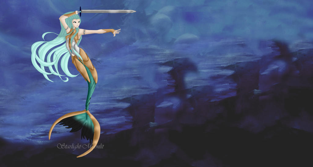 .:CE:. Warrior of the Depths by Starlight-Moonlit