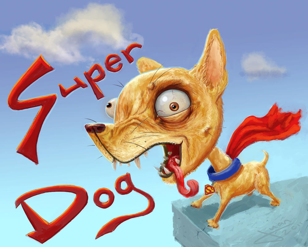Super Dog by guang2222