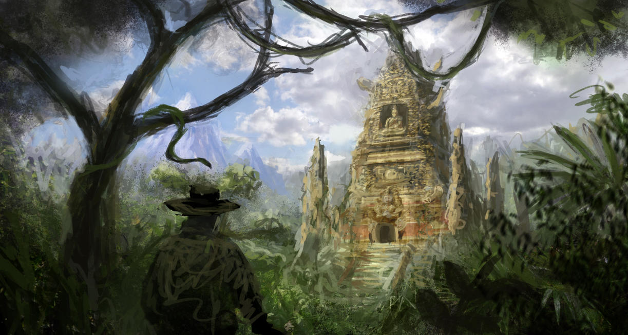 15th dungeon Eligos  Forest_temple_by_guang2222-d4wvx47