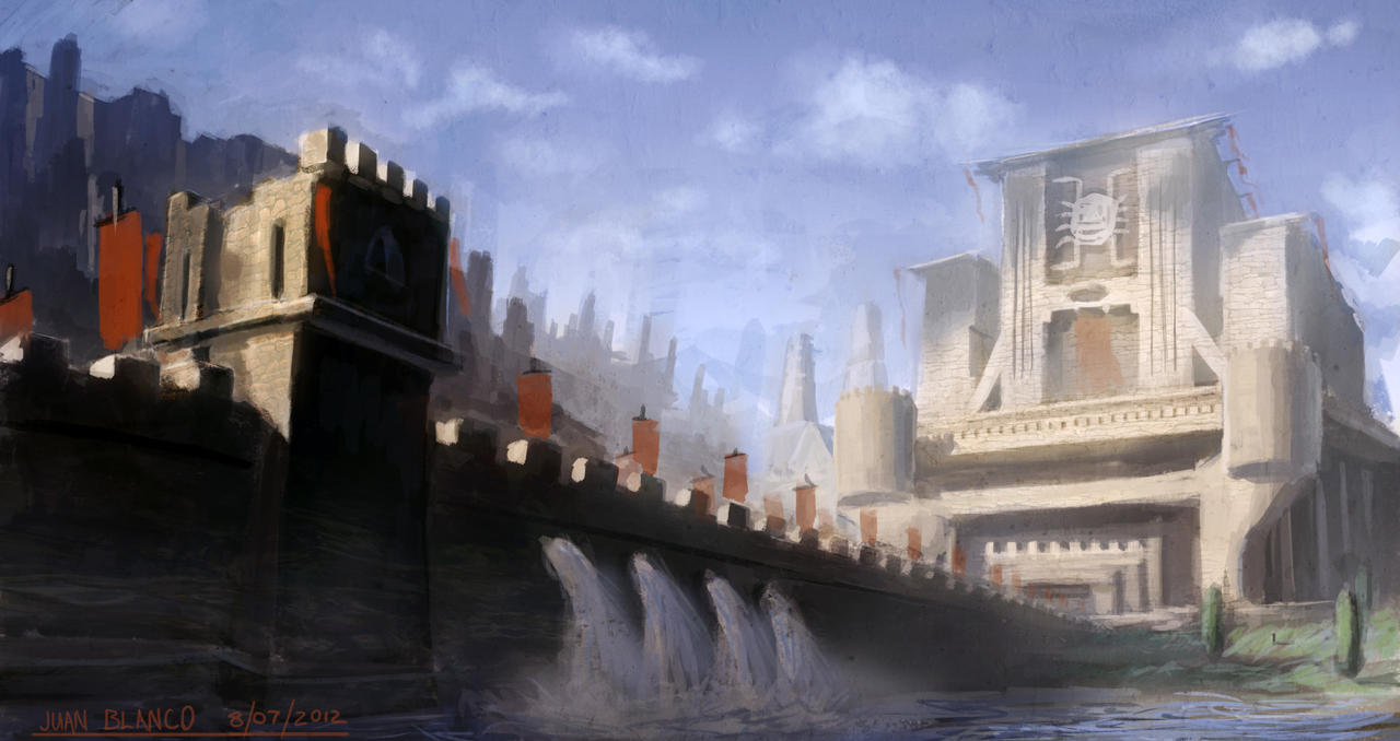epic castle by guang2222