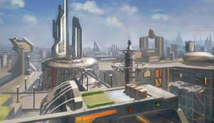 sci-fi speedpainting