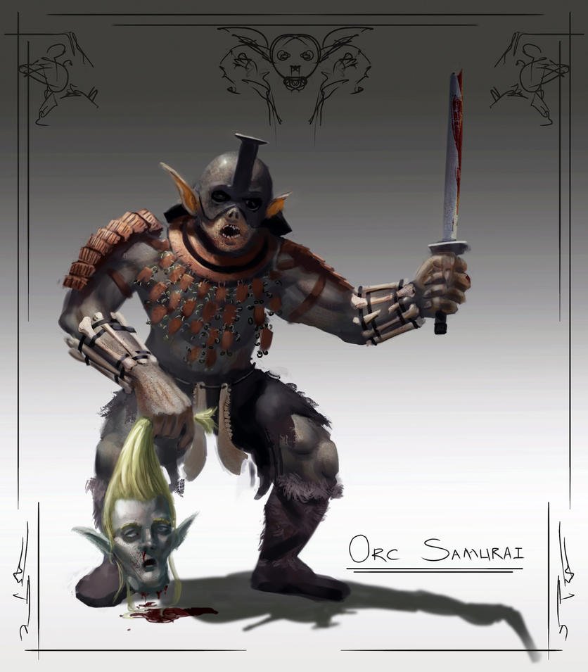 Orc-samurai by guang2222