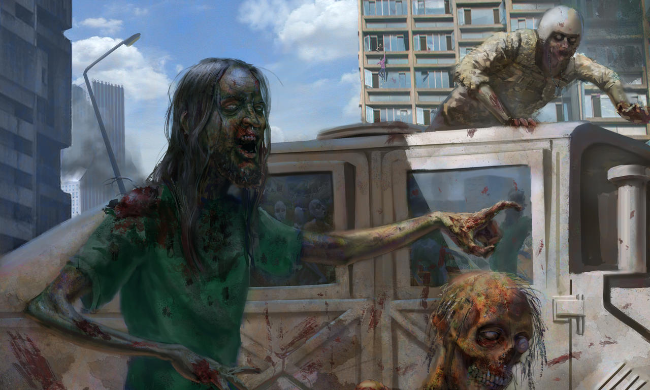 World War Z Art