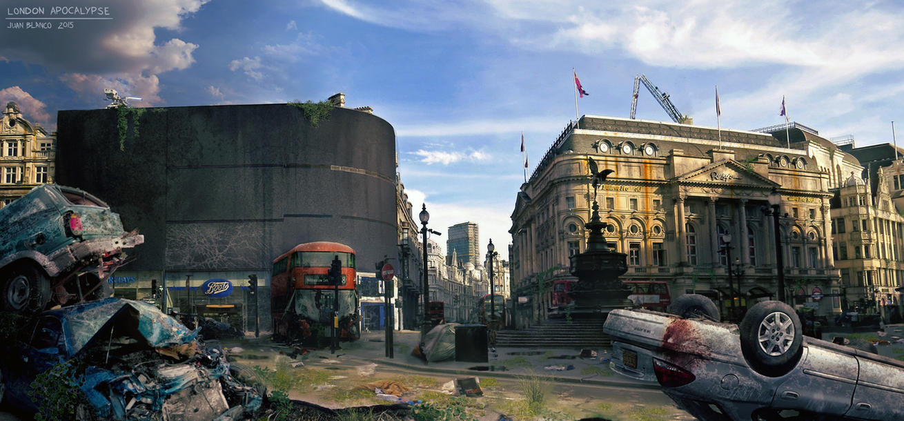 Piccadilly-Apocalypse by guang2222