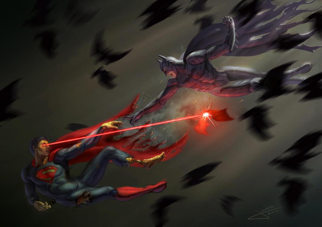 Batman vs Superman by guang2222