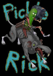 Pickle Rick by guang2222