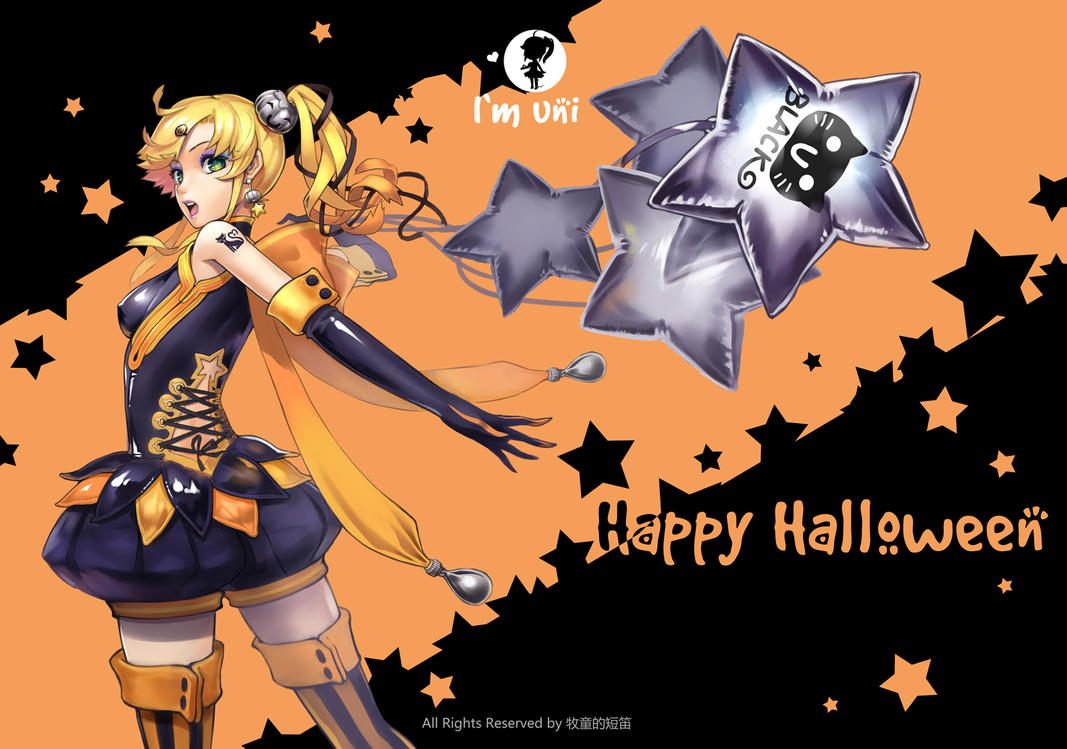 Happy Halloween2012 by yukiusagi1983