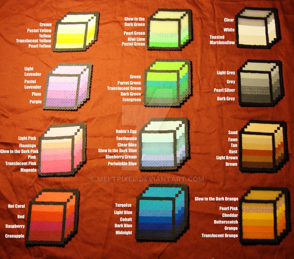 Perler Color Guide 2.0