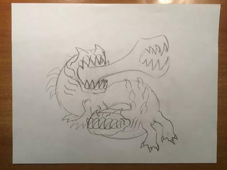 Oddworld inspired creature