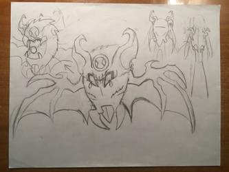Ben 10 concept alien: BatPack
