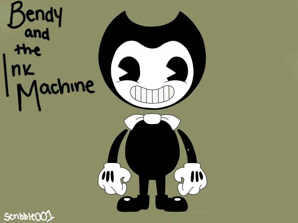 Bendy and The Ink Machine by Scribbles001