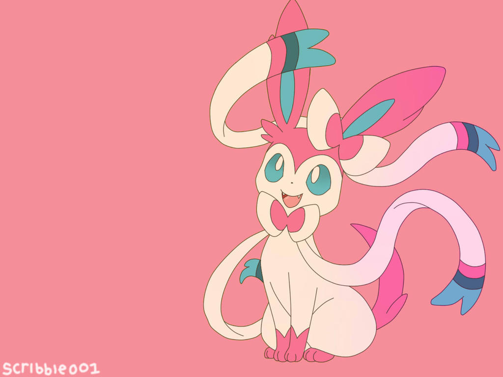 Sylveon by Scribbles001