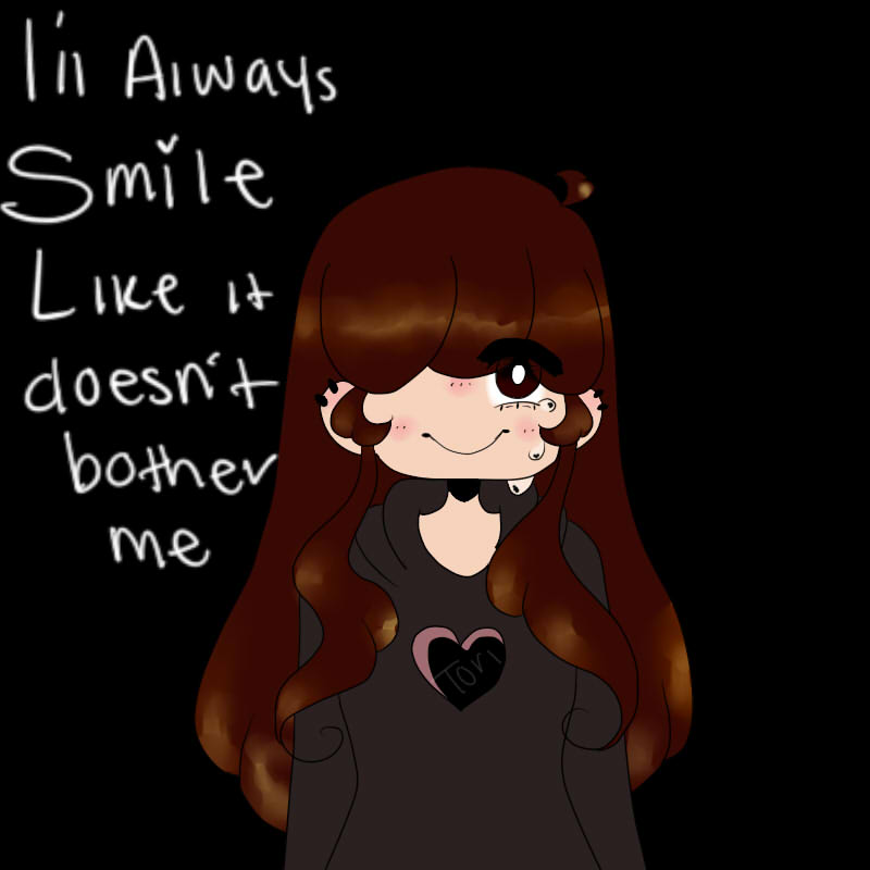 Sarah  Smiles Like Sarah  Doesn't Care by Scribbles001