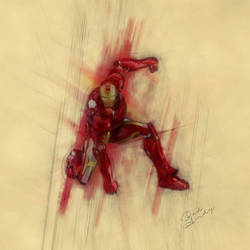 Iron Man by Badandy47