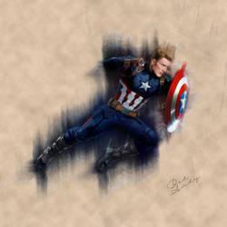 Captain America by Badandy47