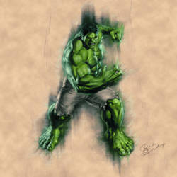 The Hulk by Badandy47