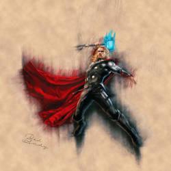 Thor by Badandy47