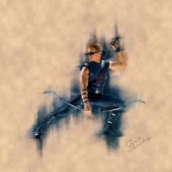Hawkeye by Badandy47