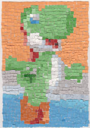 Yoshi Mosaic by xAquaMelody