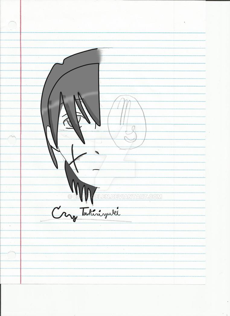 Greyscaled Cry Tsukiriyuki by LilMageLen