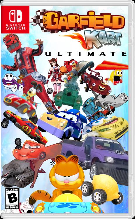Garfield Kart Ultimate By Ggartwork On Deviantart